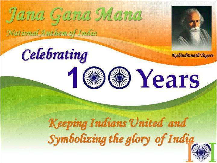 National Anthem of India Jana Gana Mana 52 seconds - Come India Sing