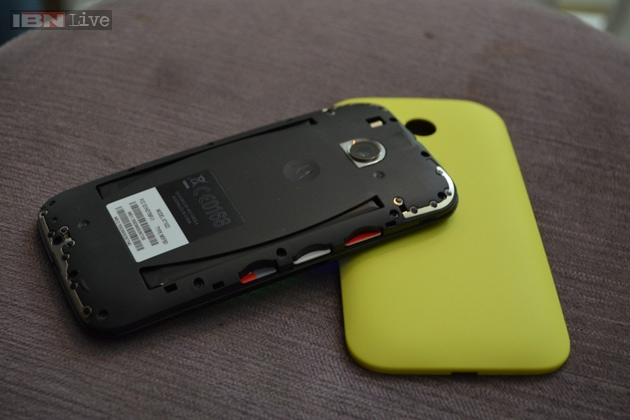 The Moto E has been launched in India at a price of Rs 6,999 and is available in India only via online store Flipkart.