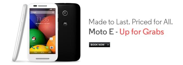 moto e smartphone